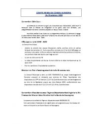 Conseil municipal du 15 octobre 2019