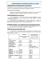 Conseil municipal du 14 juin 2016