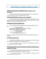 Conseil municipal du 24 février 2016