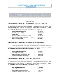 Conseil municipal du 25 février 2015