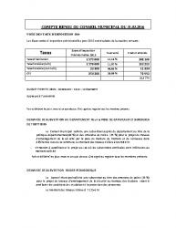 Conseil municipal du 31 mars 2016