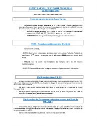 Conseil municipal du 31 octobre 2014